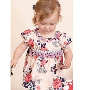 Matilda Jane Fanciful Floral Tunic 18-24 months
